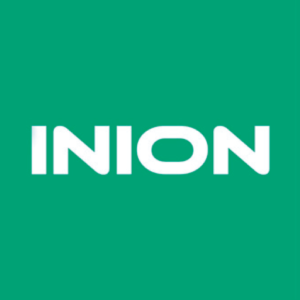 Green and white Inion logo